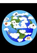 Nube de computadoras del mundo