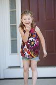 Cute Girl Laughing