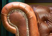 Antique Leather Retro Chair