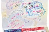 Passport With Us Visa And