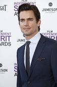 SANTA MONICA, CA - FEB 25: Matt Bomer at the 2012 Film Independent Spirit Awards on February 25, 201