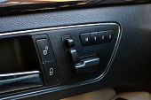 Three-passenger Seat Memory Adjustment Buttons For Quick Tilt Adjustment For Comfort And Convenience poster