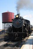 Steam locomotive at Strasburg PA