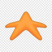 Starfish Icon. Cartoon Illustration Of Starfish Vector Icon For Web Design poster