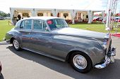 Kiev - September 11: Retro Rolls-royce Silver Cloud At Yearly Automotive-show