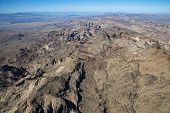 Rugged terrain near the Colorado River