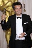 LOS ANGELES - FEB 26:  Thomas Langmann arrives at the 84th Academy Awards at the Hollywood & Highlan
