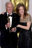 LOS ANGELES - FEB 26:  Christopher Plummer; Melissa Leo arrives at the 84th Academy Awards at the Ho