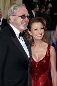LOS ANGELES - FEB 26:  James Keach; Jane Seymour arrives at the 84th Academy Awards at the Hollywood