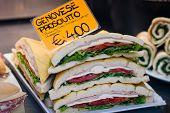 Genoa Ham Sandwich In Venice