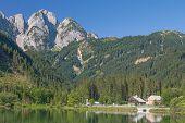 Lake Gosau,Salzkammergut,upper Austria
