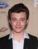 LOS ANGELES - AUG 12:  Chris Colfer arriving to FOX Fall Eco-Casino Party 2011  on August 12, 2011 i
