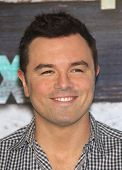 LOS ANGELES - JUL 23:  Seth MacFarlane arriving to FOX All-Star Party 2012  on July 23, 2012 in West