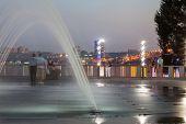 pic of dnepropetrovsk  - Night city - JPG