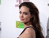 "LOS ANGELES - DEC 8:  Angelina Jolie ""In The Land of Blood and Honey"" Los Angeles Premiere  on Decem"