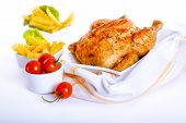 Crisp Golden Roast Chicken