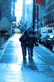 RAINY DAY IN NY
