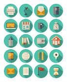 Business And Finance moderne Icons Set