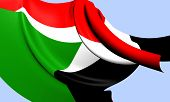 pic of north sudan  - Flag of Sudan - JPG