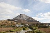 View Of Dunlewey With Errigal Mountains