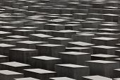 BERLIN, GERMANY - SEPTEMBER 22: Jewish Holocaust Memorial September 22th, 2011 in Berlin, Germany. D
