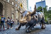 Charging Bull Of Wall Street