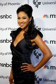NEW YORK, NY - SEPTEMBER 6: News anchor Veronica de la Cruz attends MSNBC's