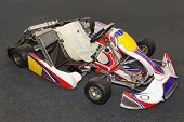 stock photo of karts  - Go kart for high speed karting race - JPG