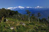 Kanchenjunga mountain range, Silerygaon, Sikkim