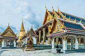 Royal palace in bangkok thailand