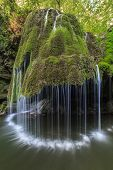 Bigar Cascade Falls In Nera Beusnita Gorges National Park, Romania.
