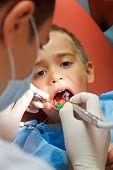 Little Boy At Dentist