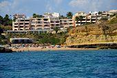 pic of vilamoura  - Beach Aveiros Albufeira Algarve Portugal summer sea - JPG