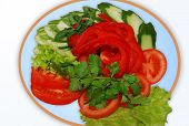 Vegetables, Salad