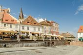 The Small Square In Sibiu