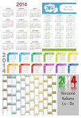 picture of weekdays  - 3 calendars  - JPG