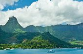 pic of french polynesia  - Paradise view of Moorea Islands Cook - JPG