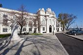 Lisbon, Portugal - February 13, 2013: Entrance of the Military Museum of Lisbon - Museu Militar de L