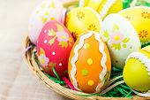 foto of easter candy  - Easter eggs  - JPG