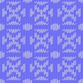 Design Seamless Colorful Knitted Pattern. Thread Textured Textile Background