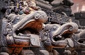 Hindu Gods On Chariot