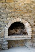 picture of smut  - fireplace for cooking made  - JPG