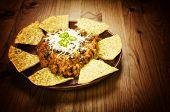 foto of nachos  - Mexican food - JPG