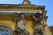 Details From Sanssouci Palace In Potsdam