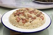 Glutinous Rice With Chinese Sausage And Chicken