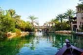 The Channel In Souk Madinat Jumeirah, Dubai, Uae