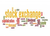 Stock Exchange Word Cloud