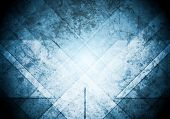 Grunge abstract blue background. Vector design