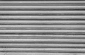 Grey Steel Shutters