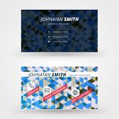 Creative Business Card Vector Design Print Template